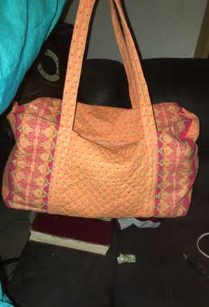 Orange, pink , and lime green Paisley printed bags!! for Sale in Valdosta, GA