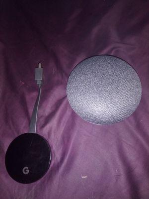 Google Homie mini Speaker , Google Chromecast for Sale in Chicago, IL