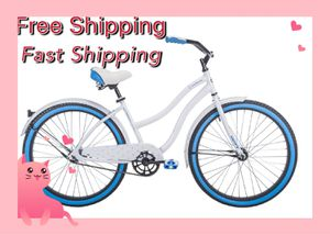 Huffy Cranbrook 26 inch Cruiser Bike with Perfect Fit Frame for Women - White for Sale in Boston, MA