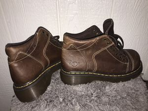 Brown doctor Martin's, size 8 (used) for Sale in Portland, OR