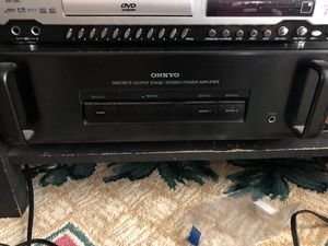Onkyo stereo power amplifier for Sale in Pflugerville, TX