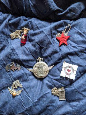 Nerdy / Geeky Jewelry Lot (Dr Who, Harry Potter, Batman, Zelda, Portal, Mass Effect) for Sale in New York, NY