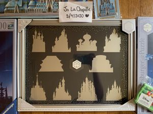 Disney Limited Edition Castle Collection Pin case for Sale in San Francisco, CA