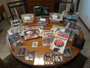 Over a hundred collectible comics movies Michael Jordan Ball cards action figures for Sale in Phoenix, AZ