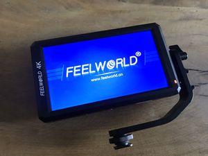 Feelworld Camera Monitor w/ sunhood for Sale in Houston, TX