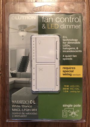 Lutron Maestro CL Fan Control & LED Dimmers. for Sale in Los Angeles, CA