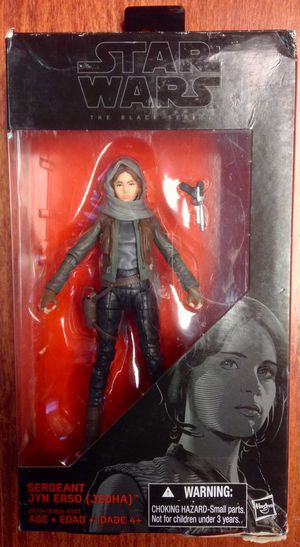 Star Wars The Black Series Rogue One Sergeant Jyn Erso - Brand New in Box! for Sale in Phoenixville, PA