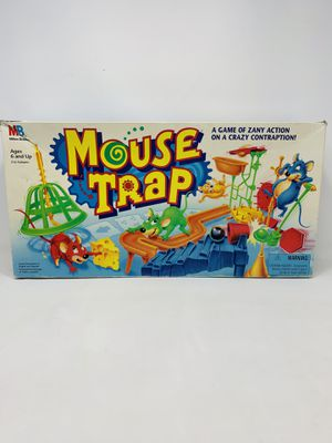 "Vintage 1994 Milton Bradley ""Mouse Trap"" Board Game - Complete for Sale in El Monte, CA"