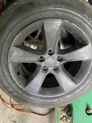 Kumho crugen tires 235/60 17 ht51 with rims for Sale in Independence, MO