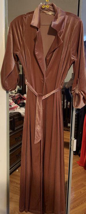 Velvet long cardigan for Sale in Sterling Heights, MI