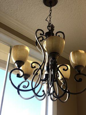 Hampton bay chandelier for Sale in Corona, CA