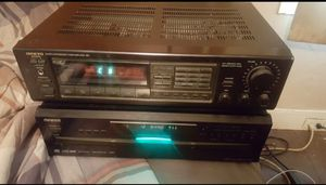 Onkyo 5 Disk CD & Reciever for Sale in Wrightstown, NJ