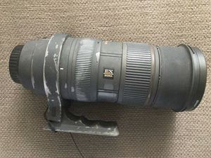 Sigma 50-500mm for canon for Sale in Arcadia, CA