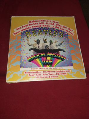 MAGICAL MYSTERY TOUR ALBUM BY THE BEATLES for Sale in Stockbridge, GA