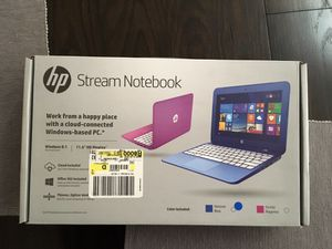 "HP Stream Notebook 11.6"" for Sale in Lake Elsinore, CA"