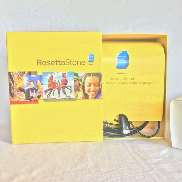 Rosetta stone homeschool French level one with USB headphones