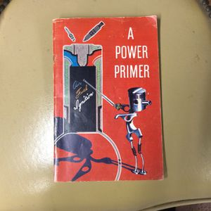 Vintage 1955 GM Book About Engines for Sale in La Habra, CA