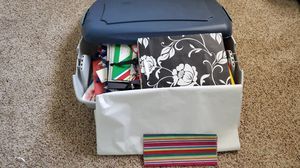 Storage container filled with gift bags for Sale in Chandler, AZ