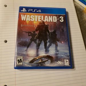 Wasteland 3 For PS4 for Sale in Newcastle, WA