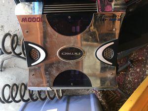 Nitro 1000w amp for Sale in Chino, CA