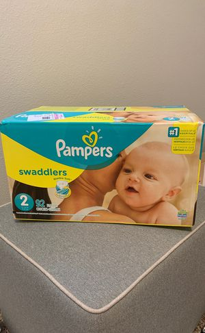 Pampers Swaddlers size 2 for Sale in Kent, WA