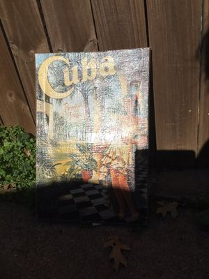 Cuba decor for Sale in Carrollton, TX