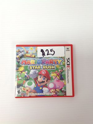 Mario Party Star Rush for Sale in San Diego, CA