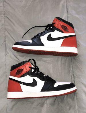"Jordan 1 retro ""Black toe"" VNDS for Sale in McAllen, TX"