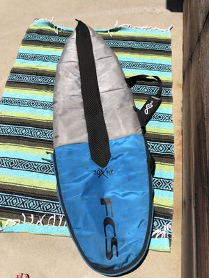 Surfboard bag 6 ft FCS for Sale in Carlsbad, CA