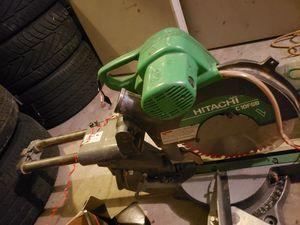 Mite saw Hitachi c10fsb for parts for Sale in Pompano Beach, FL