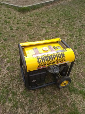GENERATOR: Champion global power equipment for Sale in Silver Spring, MD