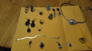 Ladies silver and Sterling asst jewelry for Sale in Kimberling City, MO