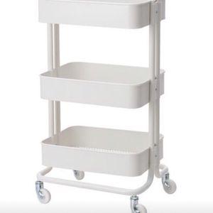White Wagon Cart 3 Tier Shelf for Sale in Reston, VA