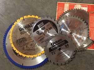 Pile of saw blades for Sale in Lynnwood, WA