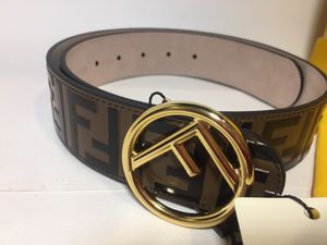 Fendi Brown Leather Belt Authentic for Sale in Queens, NY
