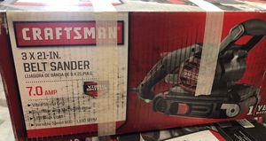 Craftsman belt sander for Sale in Hesperia, CA