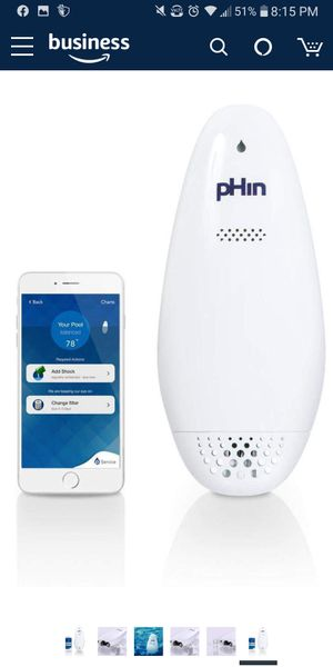 PHin WiFi pool spa hot tub water treatment monitor for Sale in San Diego, CA