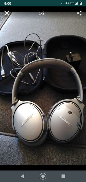 Bose wireless QC35 II bluetooth headphones for Sale in Anaheim, CA