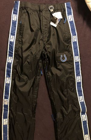 NFL Team Apparel Indianapolis Colts Football Tailgate Pants for Sale in Whittier, CA