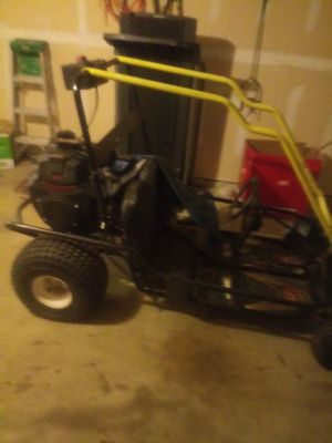 Big go cart will trade old school motor bike. Make son happy for Sale in Fort Worth, TX