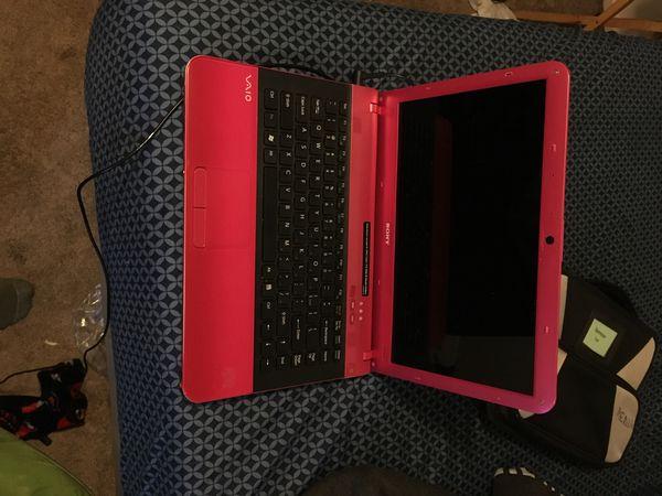 Sony laptop windows 7 runs like new