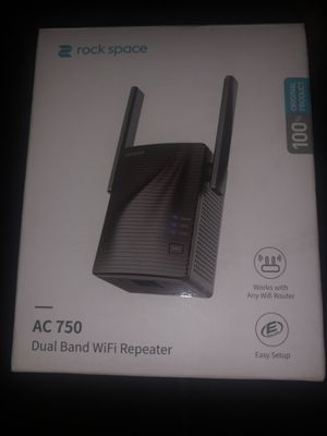 Rock space router boost your WiFi signal for Sale in Dublin, OH