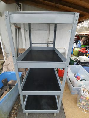 Edsal Four Shelf Parts Cart for Sale in Kernersville, NC