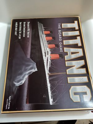 vintage 1998 Titanic the board game for Sale in West Chicago, IL