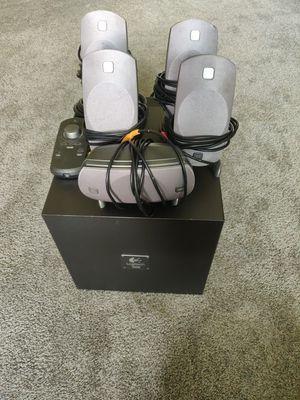 Logitech z5300 5.1 speakers for Sale in Seattle, WA
