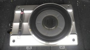 """Dual 8"""" low profile powered car subwoofer with remote..mint for Sale in Pineville, WV"""