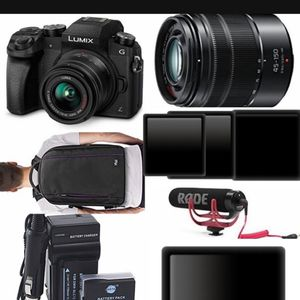 Camera Set -Panasonic G7 With Extras for Sale in Corona, CA