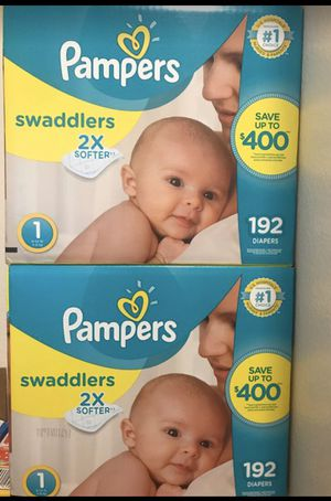 Pampers size 1 for Sale in Irving, TX
