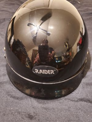LIKE NEW RAIDER BRAND HALF HELMET for Sale in Croydon, PA