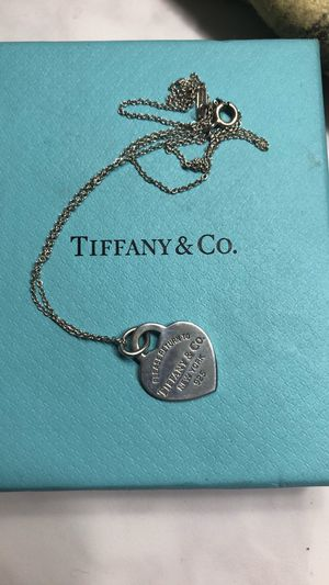 Tiffany & co necklace for Sale in Tempe, AZ
